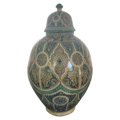 Vintage Giant Moroccan Jar