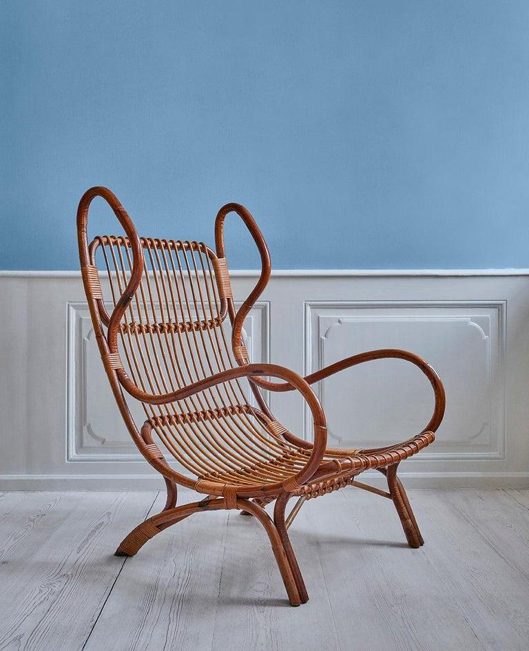 Wonderful vintage Gio Ponti Continuum armchair