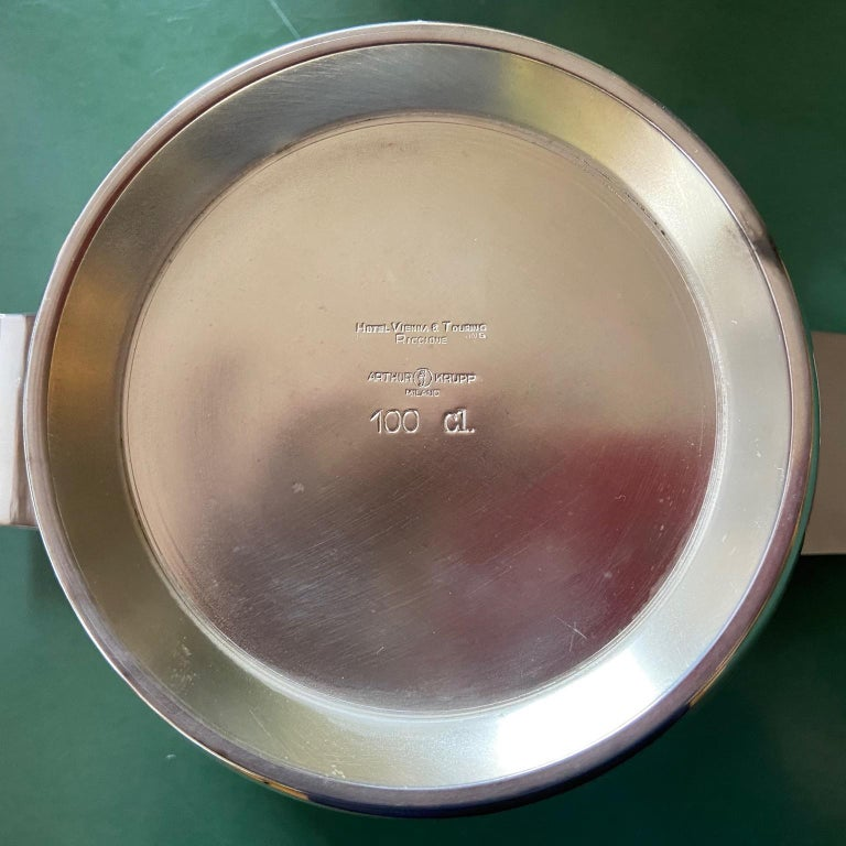 Vintage Gio Ponti Silver Plated Soup Tureens for Krupp, Italian, Midcentury In Excellent Condition For Sale In London, GB
