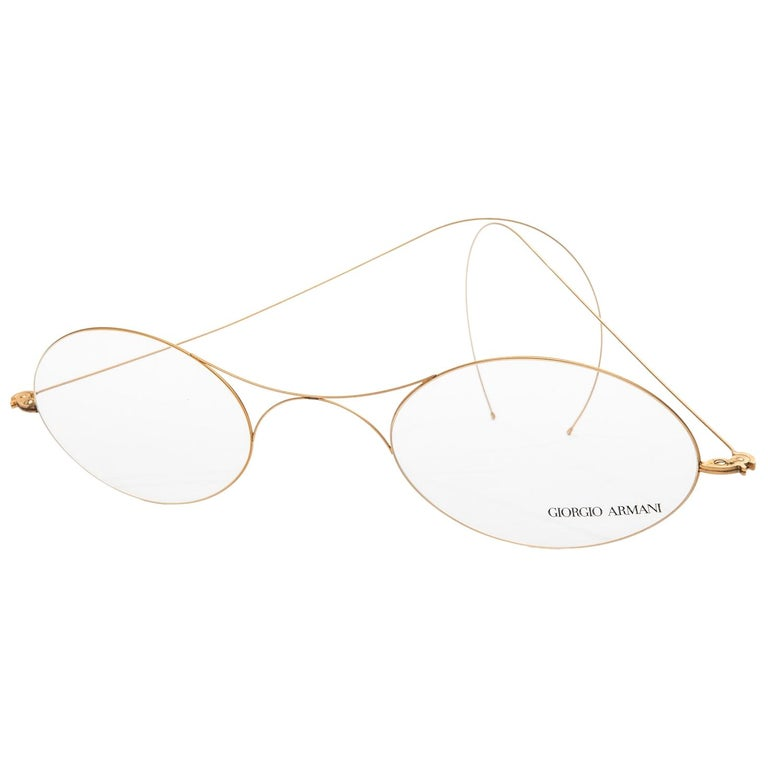 d8f37526f57 Vintage Giorgio Armani Giant Store Display Glasses For Sale at 1stdibs