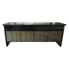 "Vintage ""Giorgio Collection Italian Snakewood Credenza"