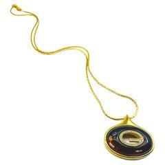Vintage Givenchy 1970s Pendant Necklace