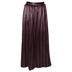 Vintage Givenchy Stripe Skirt