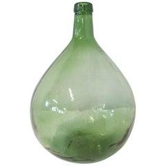 Vintage Glass Bottle Demijohns Lady Jeanne or Carboy Barcelona Model