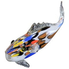 Vintage Glass Fish, 1970s