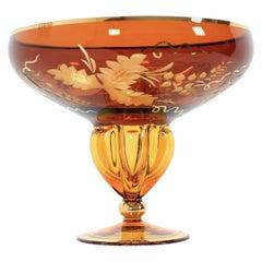 Vintage Glass Goblet, 1970s