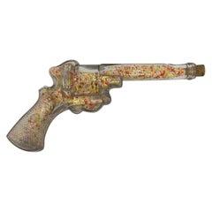 Vintage Glass Gun Candy Dispenser
