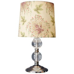 Vintage Glass Table Lamp