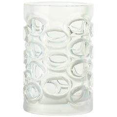Vintage Glass Vase, 1950s