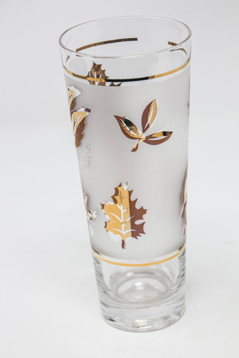 American Vintage Glass Vase by Libbey For Sale