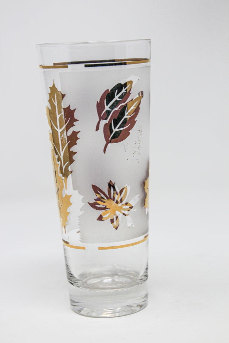 Vintage Glass Vase by Libbey In Good Condition For Sale In North Hollywood, CA