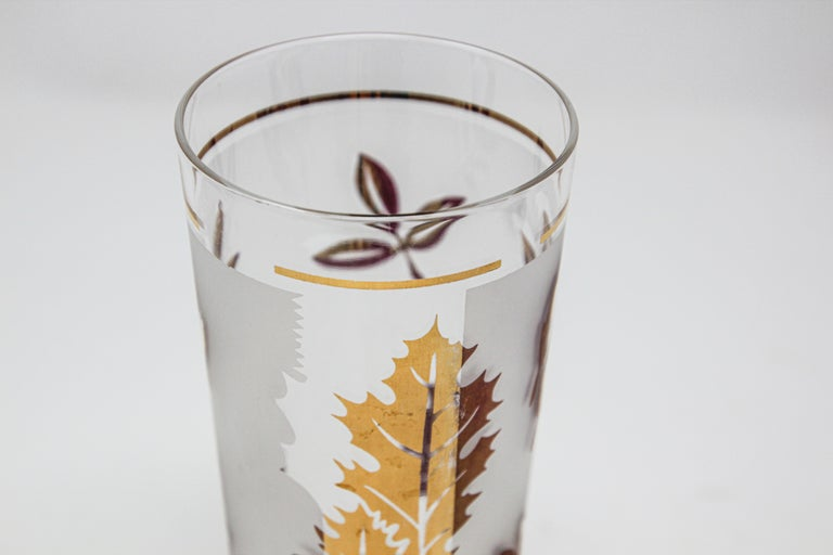 Vintage Glass Vase by Libbey For Sale 1