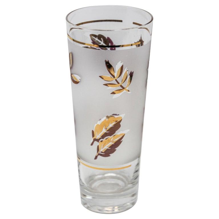 Vintage Glass Vase by Libbey For Sale