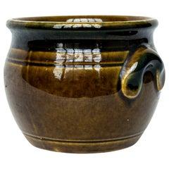 Vintage Glazed Ceramic Pot from Sweden, 1970s