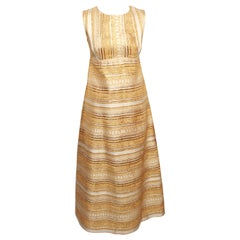 Vintage Gold Gown