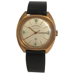 Vintage Gold-Plated 1970s West End Watch Co. with Swift Seconds