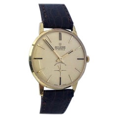 Vintage Gold-Plated and Stainless Steel Swiss Mechanical Watch