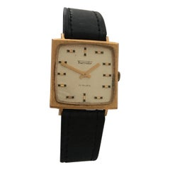 Vintage Gold-Plated and Steel Swiss Mechanical Watch