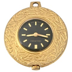 Vintage Gold-Plated Ingersoll Manual Winding Pendant Watch