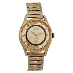 Vintage Gold-Plated Manual Winding Watch