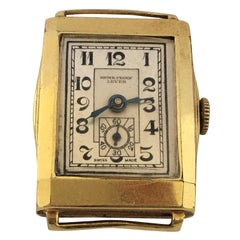 Vintage Gold-Plated Swiss Made Unisex Wristwatch