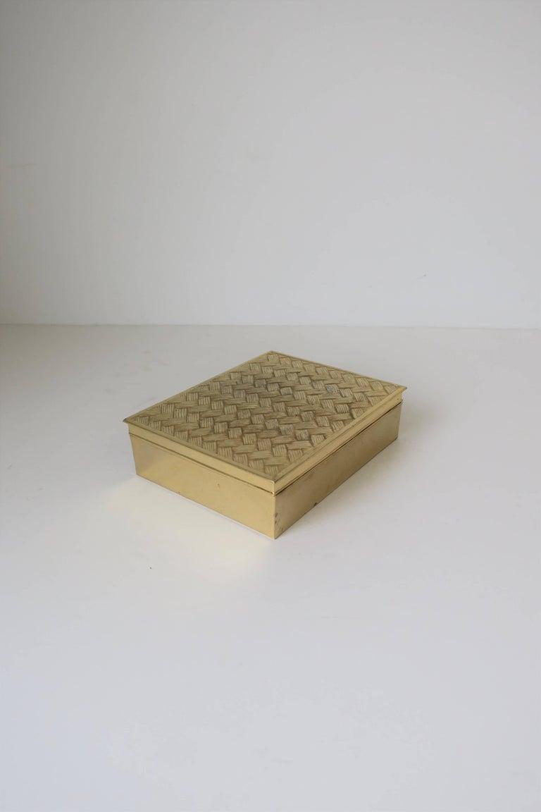 Teak 1970s Italian Box For Sale