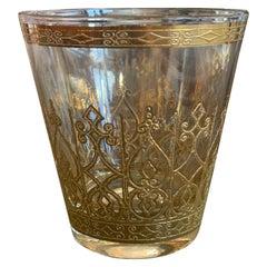 Vintage Gold Trimmed Glasses