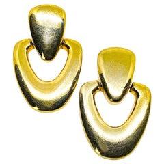 Vintage Golden Pendant Clips