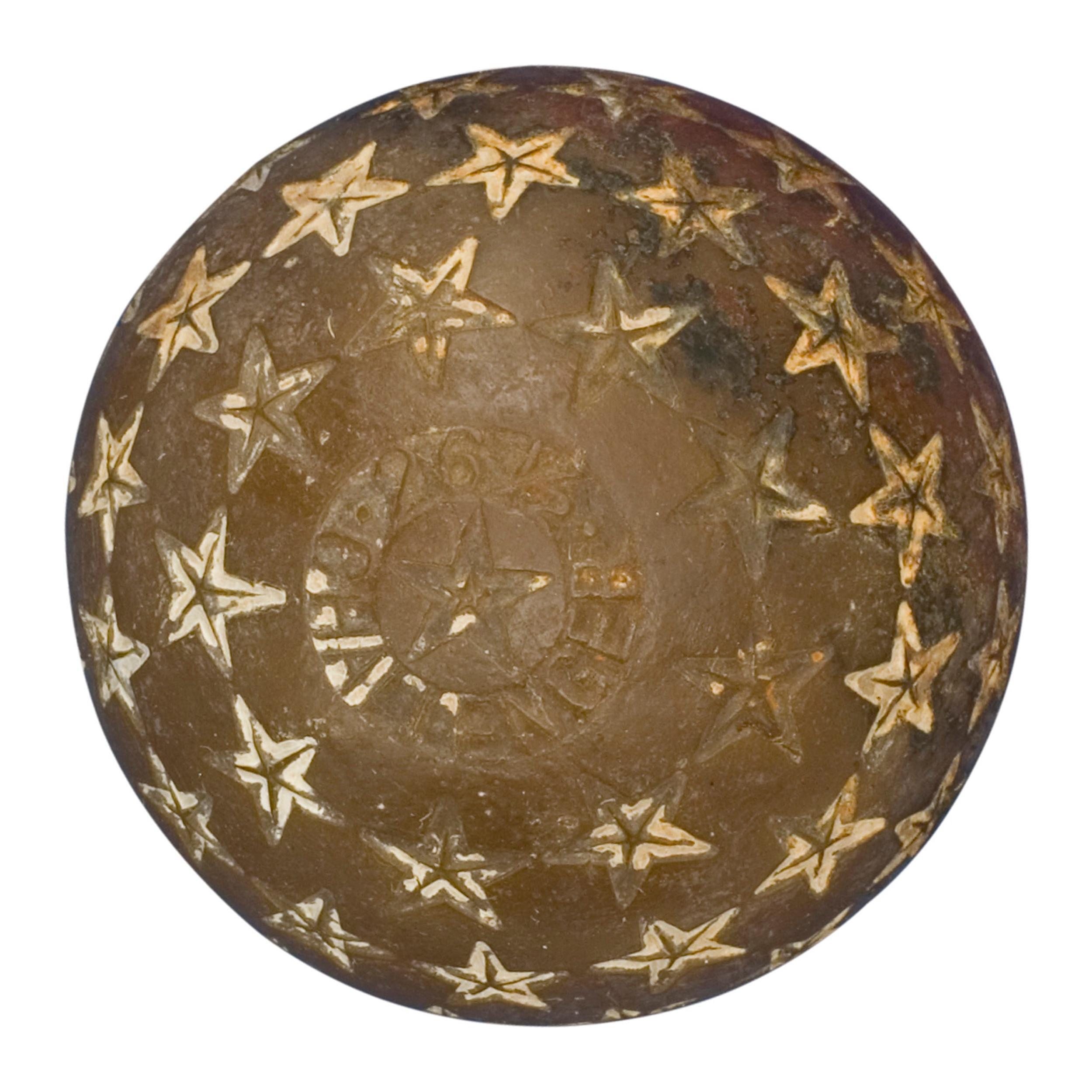 Vintage Golf Ball, Star Challenger Rubber Core