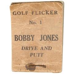 Vintage Golf Ficker Book No.1, Bobby Jones, Drive And Putt