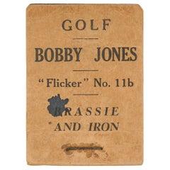 Vintage Golf Flicker Book, Bobby Jones, Brassie and Iron