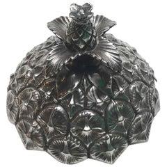 Vintage Gorham Sterling Silver Jam Jar Pineapple Lid 76