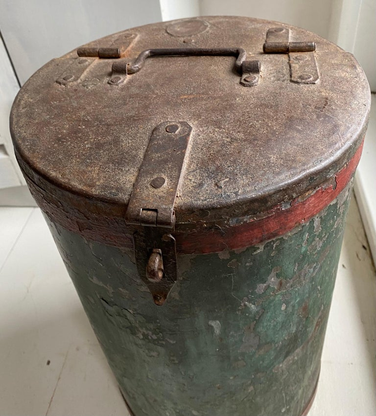 Indian Vintage Grain Container from India For Sale