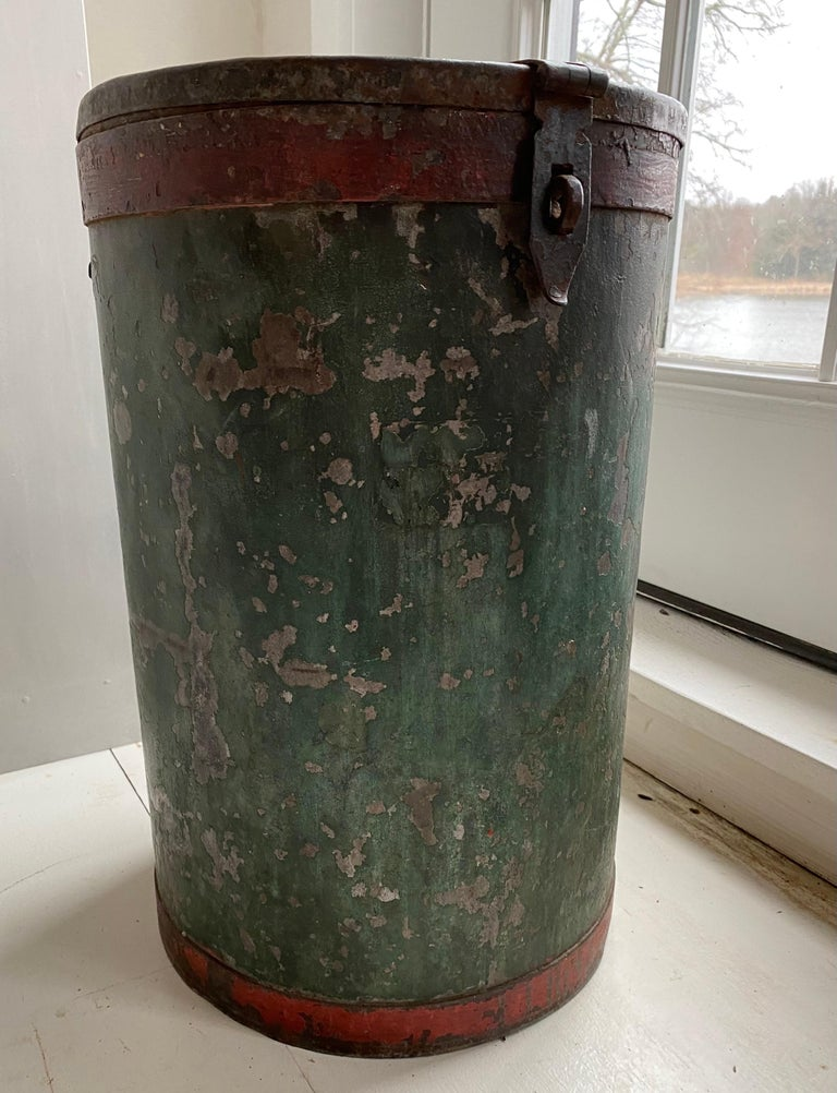 Mid-20th Century Vintage Grain Container from India For Sale