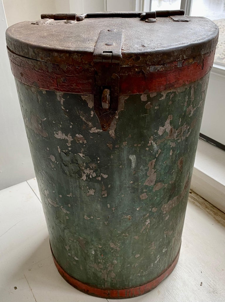 Vintage Grain Container from India For Sale 1