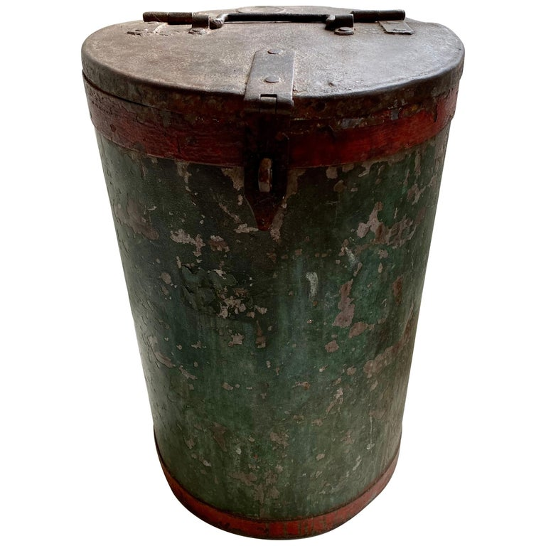 Vintage Grain Container from India For Sale