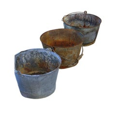 Vintage Grape Buckets