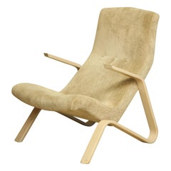 Vintage Grasshopper Armchair by Knoll
