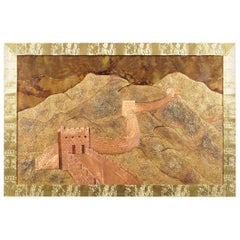 "Vintage ""Great Wall of China"" Wall Art"