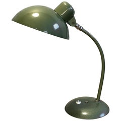 Vintage Green Industrial Desk Lamp, 1950s