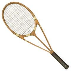 Vintage Green Star Hazell Streamline Tennis Racket