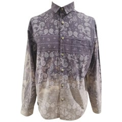 Vintage grey multicoloured shirt