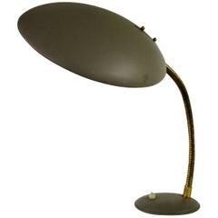 Vintage Grey Philips Desk Lamp, 1960s