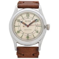 Vintage Gruen Veri-Thin Precision Stainless Steel Watch, 1950s