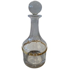 Vintage Gucci Crystal Decanter