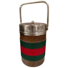 Vintage Gucci Ice Bucket, Italy, 1970s