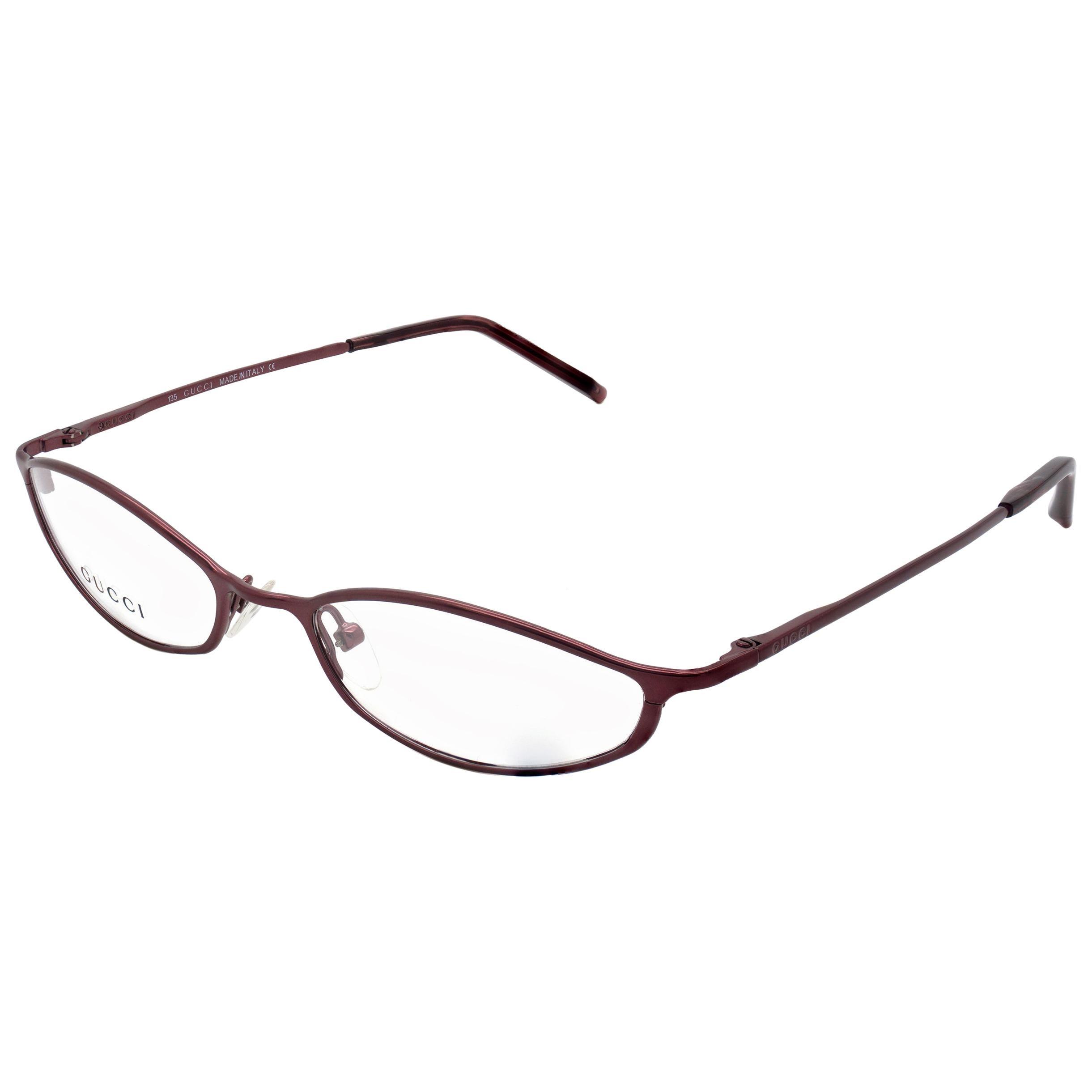 Vintage Gucci narrow glasses frame