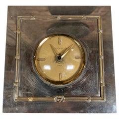 Vintage Gucci Table Clock, 1970s