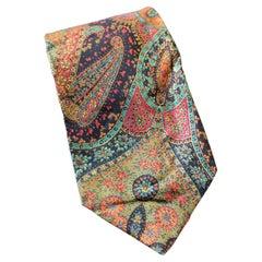 Vintage Guv Laroche all-silk tie with paisley motif