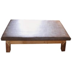 Vintage Gym Bench Coffee Table